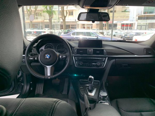 BMW Série 3 2014 cinza - Stand em Lisboa - Comprar BMW Usados Interior Como Novo