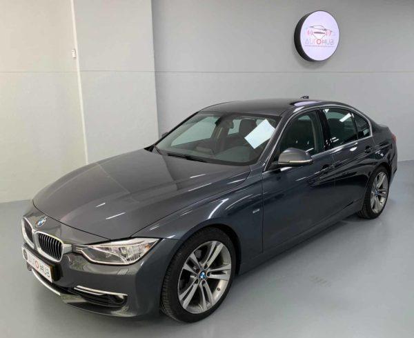 BMW Série 3 2014 cinza - Stand em Lisboa - Comprar BMW Usado - Carro Como Novo