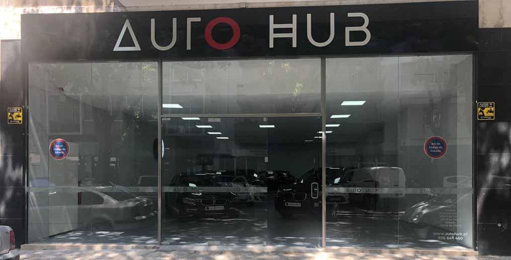 Stand Auto Hub em Lisboa - O Seu centro de Soluções Auto
