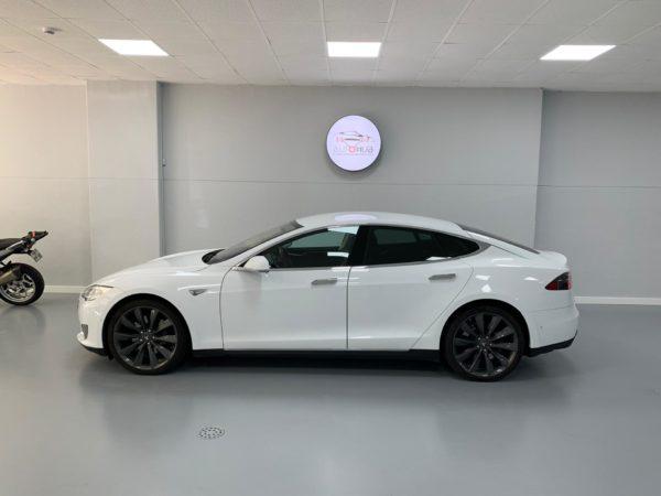 Tesla Model S S70 Usado 2016 Stand Auto Hub Carros Usados e Seminovos A melhor seleção de automóveis Tesla Usados Stand em Lisboa