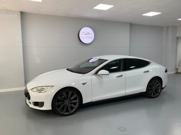 Tesla S70 Usado 2016 Stand Auto Hub Carros Usados e Seminovos A melhor seleção de automóveis Tesla Usados Stand em Lisboa_2