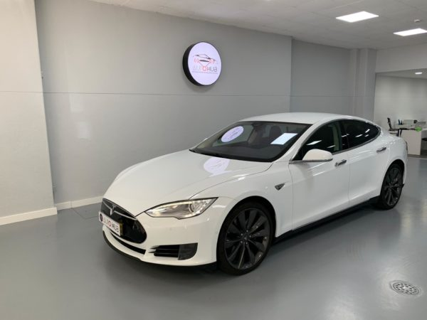 Tesla S70 Usado 2016 Stand Auto Hub Carros Usados e Seminovos A melhor seleção de automóveis Tesla Usados Stand em Lisboa_3