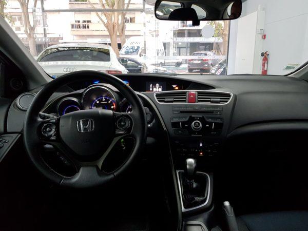 Honda Civic T Usado 2014 _Automóveis Usados_Stand em Portugal_4