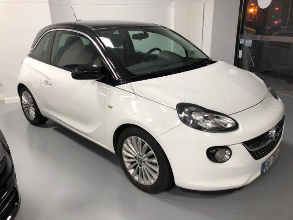 Opel Adam Glam Usado 2017 Branco Automóveis Usados com Grantia Stand de Carros em Lisboa