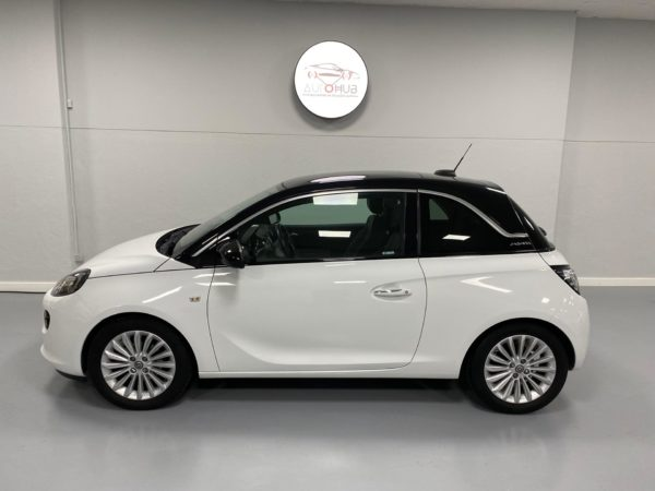 Opel Adam Glam Usado 2017 Branco Automóveis Usados com Grantia Stand de Carros em Lisboa_2