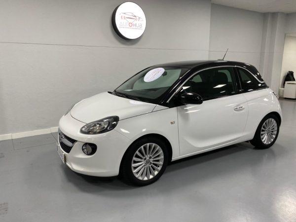 Opel Adam Glam Usado 2017 Branco Automóveis Usados com Grantia Stand de Carros em Lisboa_3