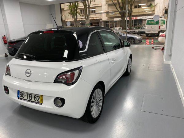 Opel Adam Glam Usado 2017 Branco Automóveis Usados com Grantia Stand de Carros em Lisboa_6