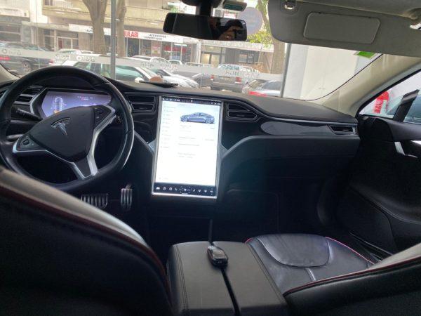 Tesla Model S P85+ Usado 2014 Stand Auto Hub Carros Usados e Seminovos A melhor seleção de automóveis Tesla Usados Stand Portugal