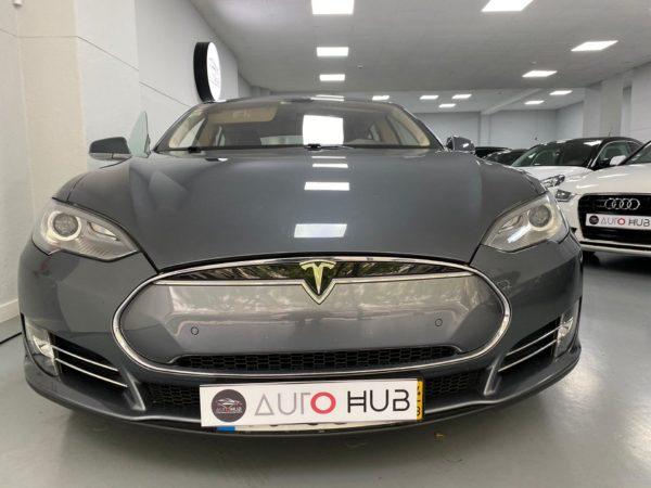 Tesla Model S P85+ Usado 2014 Stand Auto Hub Carros Usados e Seminovos A melhor seleção de automóveis Tesla Usados Stand em Lisboa_3