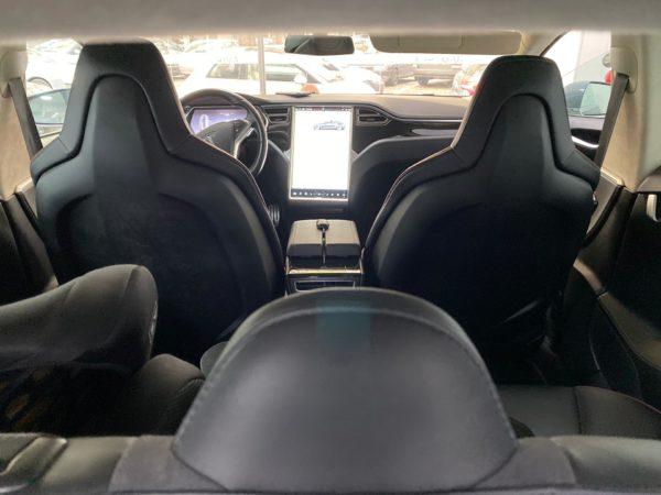 Tesla Model S P85+ Usado 2014 Stand Auto Hub Carros Usados e Seminovos A melhor seleção de automóveis Tesla Usados Stand em Portugal